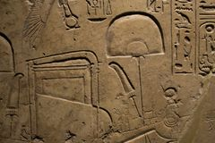 The galleries of Ancient Egypt and Sudan, Ashmolean museum. The galleries of Ancient Egypt and Sudan demonstrating the human occupation of the Nile Valley and Royalty Free Stock Photography