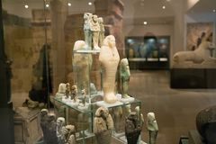 The galleries of Ancient Egypt and Sudan, Ashmolean museum Royalty Free Stock Photos