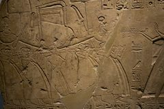 The galleries of Ancient Egypt and Sudan, Ashmolean museum Royalty Free Stock Photography