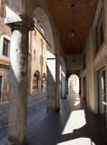 Galleries in Padua. Royalty Free Stock Photography