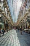 Galleries st Hubert in Brussels Belgium Stock Images