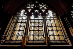 In the galleries of Westminster Abbey Royalty Free Stock Photos
