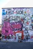 Gallerimålning för östlig sida, Berlin, Tyskland royaltyfri foto