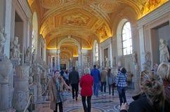 gallerimuseum vatican Royaltyfria Bilder