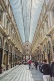Gallerist Hubert i Bryssel Belgien Arkivbilder