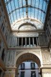 Gallerit Umberto i Naples royaltyfria foton