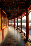 Gallery of ancient Chinese architecture Stock Images