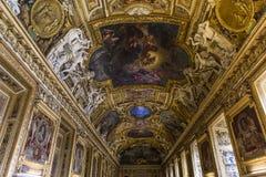 Gallery of Apollon, The Louvre, Paris, France Stock Photo