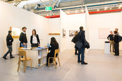 Gallery in an art fair Royalty Free Stock Photography