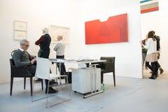 Gallery in an art fair Stock Photo