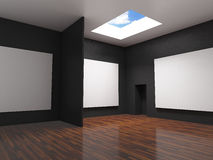 Gallery black Stock Photos
