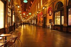 St Hubert Gallery in Brussels, Belgium Royalty Free Stock Photos