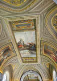 Gallery ceiling Royalty Free Stock Images