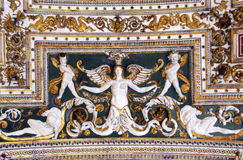 Gallery Ceiling Part of the Vatican Museums Royalty Free Stock Images