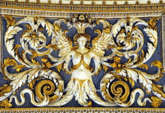 Gallery Ceiling Portion in Vatican Museums royalty free stock image