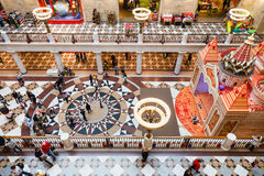 Gallery of Central Children's Store on Lubyanka Royalty Free Stock Photography