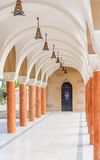 Gallery in the Church of Saint Nektarios. Faliraki Royalty Free Stock Photography
