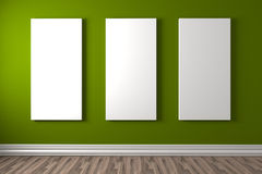 Gallery colour Royalty Free Stock Images