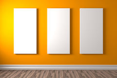 Gallery colour Royalty Free Stock Photos