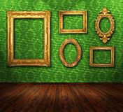 Gallery display Royalty Free Stock Image