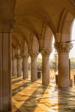 Gallery of Doges' Palace. Royalty Free Stock Image