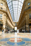 Gallery Emanuele Vittorio in Milan Royalty Free Stock Images