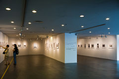 Gallery of Guangdong Museum of Art Stock Photo