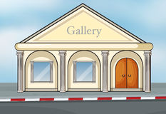 A gallery house Royalty Free Stock Image