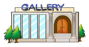A gallery Stock Image