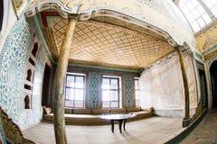 Gallery inside Topkapi Palace harem Stock Images