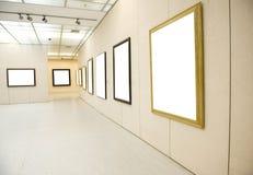 Gallery Interior Stock Image
