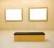 Gallery Interior Stock Photography
