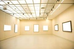 Gallery Interior Royalty Free Stock Photo