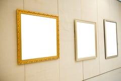 Gallery Interior Stock Photo