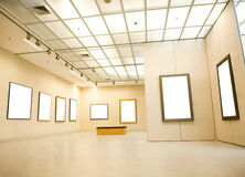 Gallery Interior Royalty Free Stock Image
