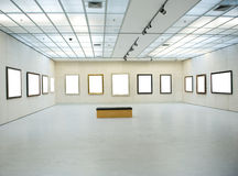 Gallery Interior Stock Photography