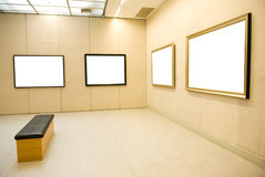 Gallery Interior Royalty Free Stock Photo