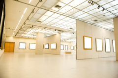 Gallery Interior Royalty Free Stock Photography