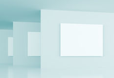 Gallery Interior Background Royalty Free Stock Photography