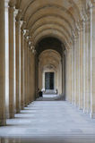 Gallery of louvre Royalty Free Stock Photos