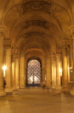 Gallery of Louvre - night Stock Image