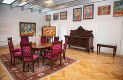 Gallery of Ludovit Fulla, Ruzomberok - Slovakia Stock Images