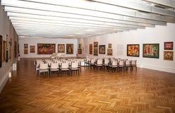 Gallery of Ludovit Fulla, Ruzomberok - Slovakia. RUZOMBEROK, SLOVAKIA - JULY 22: Gallery of Ludovit Fulla on July 22, 2014 in Ruzomberok stock photography