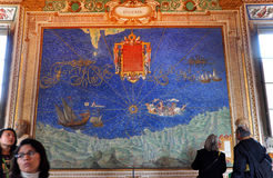 Gallery of Maps. Vatican city, Italy Royalty Free Stock Images