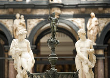 Gallery of Medieval and Renaissance, Victoria and Albert Museum, London Stock Image