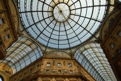 Gallery,Milan Royalty Free Stock Images