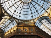 Gallery at Milano Royalty Free Stock Images