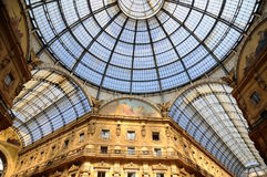 Gallery at Milano Royalty Free Stock Photography