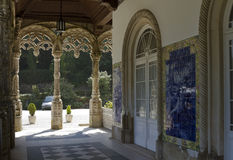 Gallery of National Palace of Bussaco Royalty Free Stock Photography