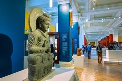 Free Gallery Of China And South Asia At British Museum In London, UK Stock Photos - 123946923